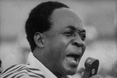 Ghana's first President Kwame Nkrumah