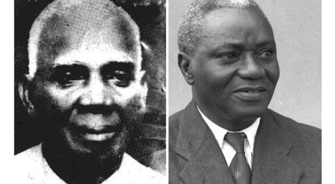 Paa Grant and J.B. Danquah
