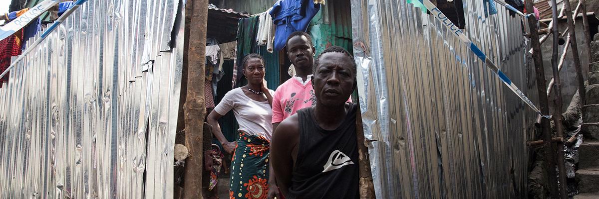 Family in Sierra Leone