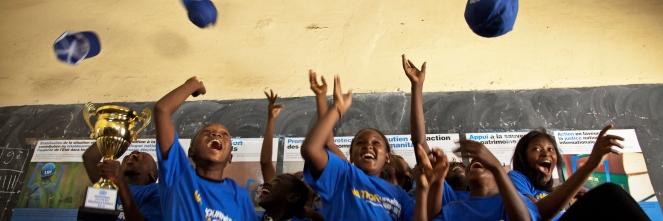 UN DAY event at Malian school